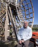 John Comer and Water Wheel