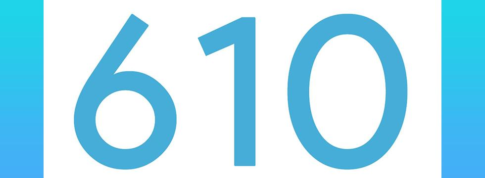Area Code 610 Banner for Library Phone Survey