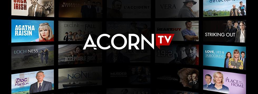 Acorn TV banner