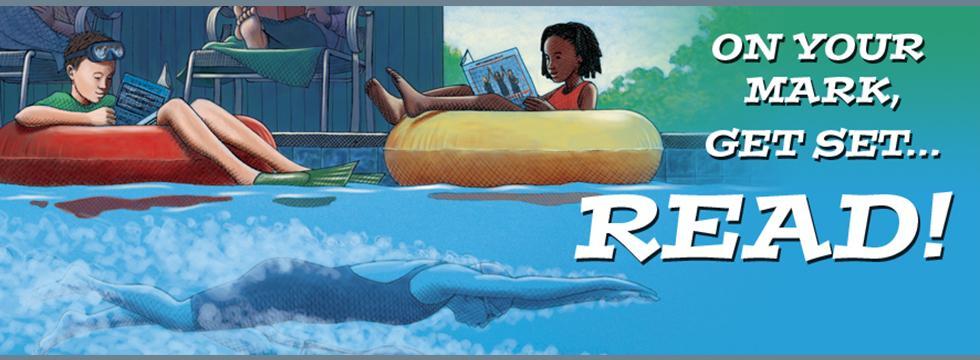 Children's Summer Reading Banner 2016