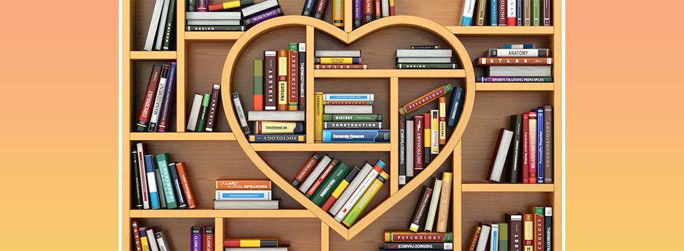 Heart Bookshelf banner