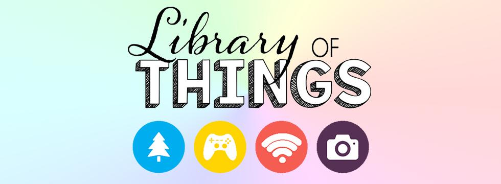 Library of things banner