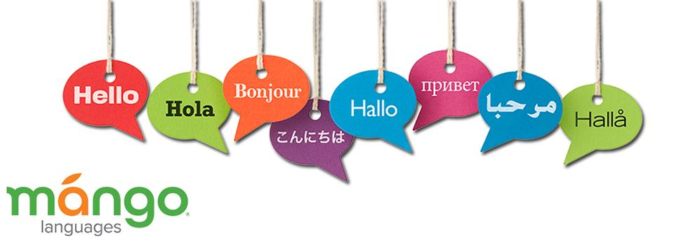 Mango Languages Hello Banner