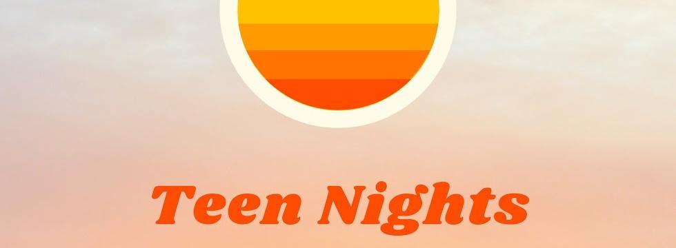 Teen Night Banner