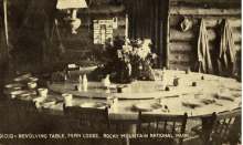 Picture of Revolving Table at Fern Lake Lodge - Rocky Mountain National Park