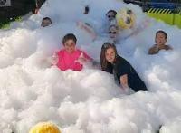 Ann Lincoln foam party