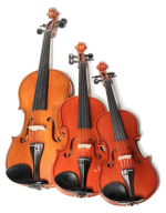 Orchestral string instruments picture